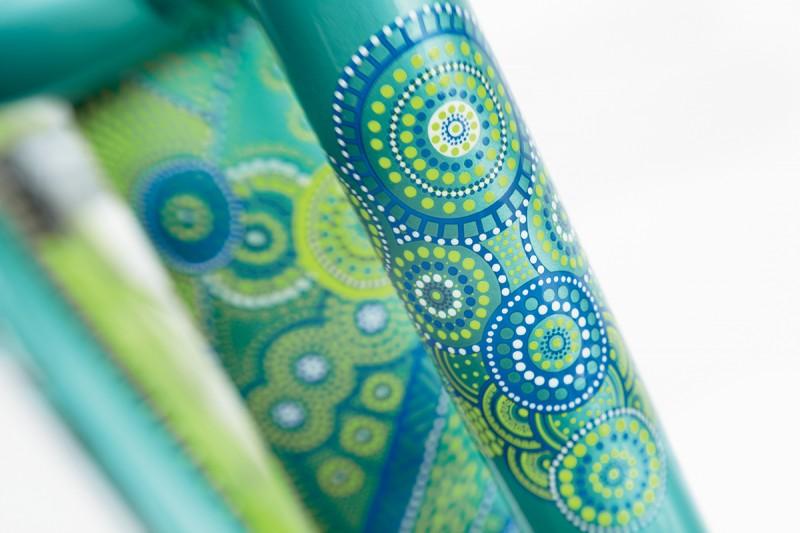 Cruiser Dreamtime Emerald raami muster