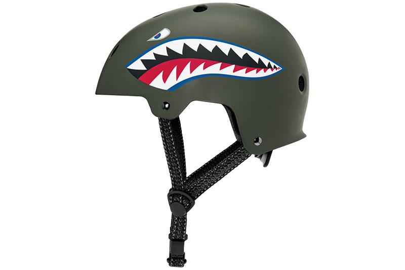 rattakiiver tiger shark külg