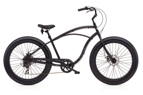 cruiser lux fat tire 7d matte black