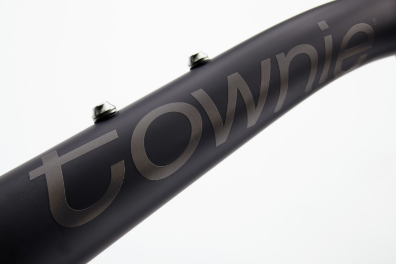 electra townie original 7d eq matte black raami detail