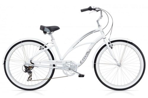 electra cruiser lux 7d valge