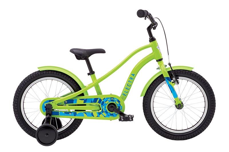 laste jalgratas sprocket 1 16 tolli slime green