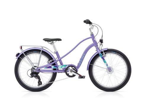 laste jalgratas sprocket 7d eq 20 tolli la la lavender