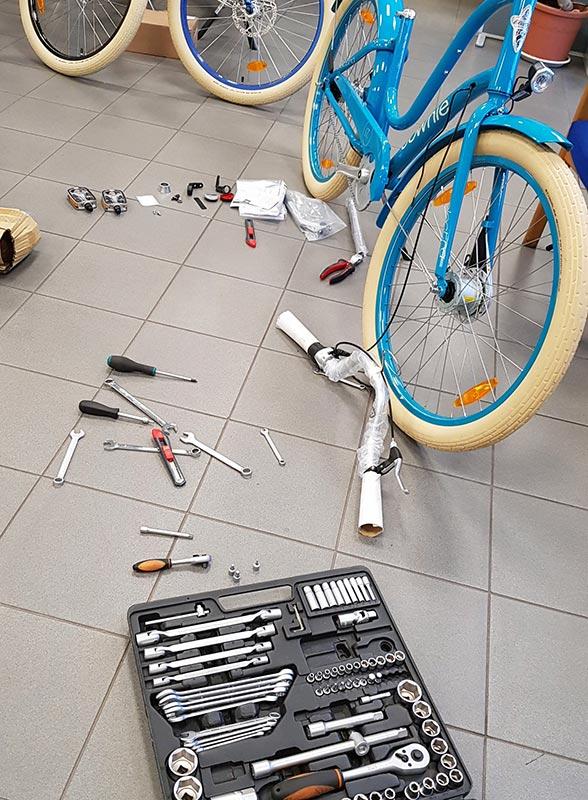Electra jalgratta hooldus