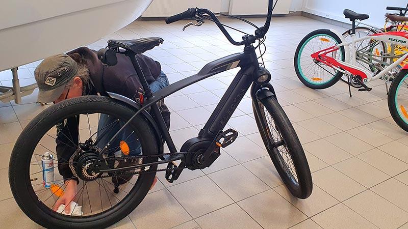 rattahooldus electra ja teised jalgrattad