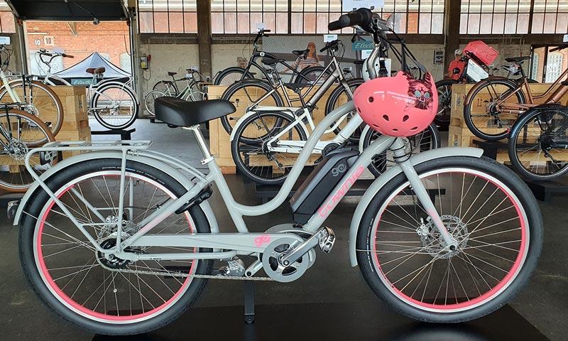 electra elektrijalgratas hall roosa